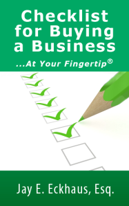 Buying a Business Checklist e-book Download